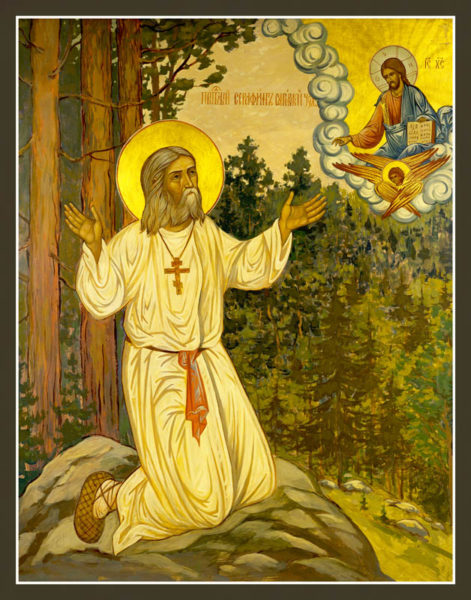 Image result for st, seraphim of sarov